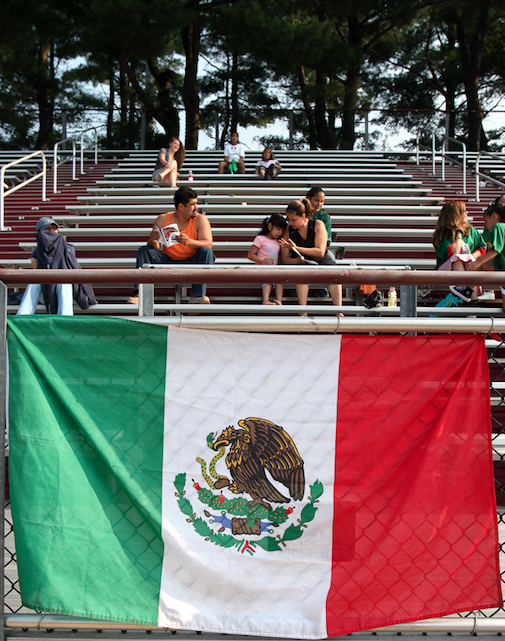 The World Cup Is Coming. U.S. Won't Be There. Mexico Will. Get Ready for a Mexican Flag Controversy.